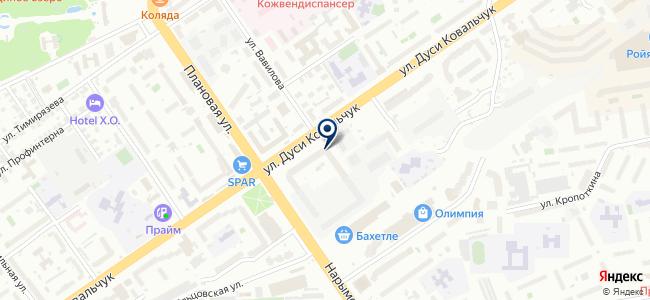 АвангардСибирь на карте