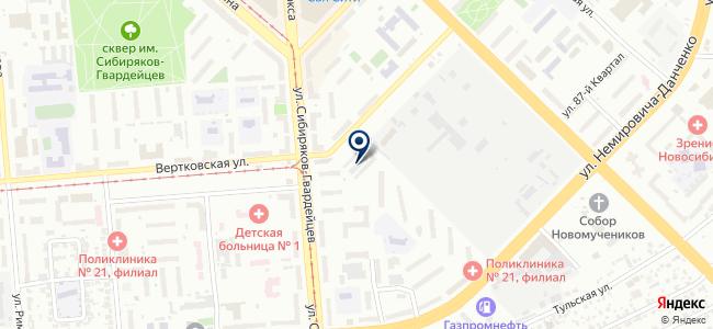 Автодок-А на карте