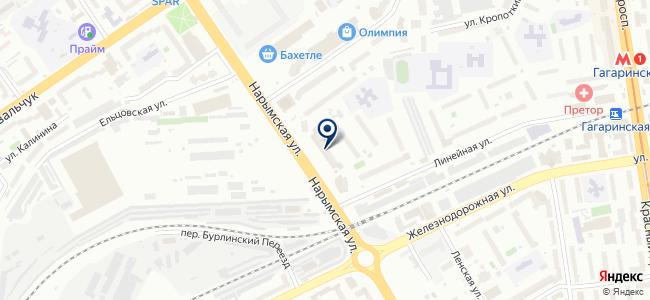 Анвир на карте