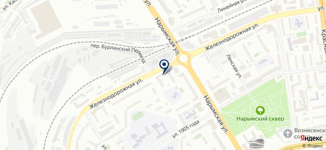 Институт автоматизации энергетических систем, ЗАО на карте
