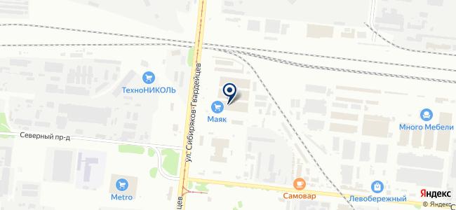 Магазин люстр и часов на карте