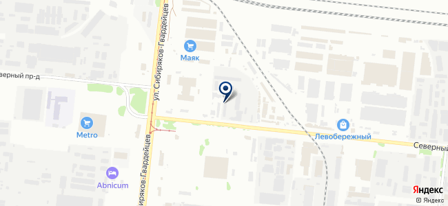 Аруналайт, ООО на карте