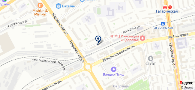 СибЭлектроПроект, ООО на карте
