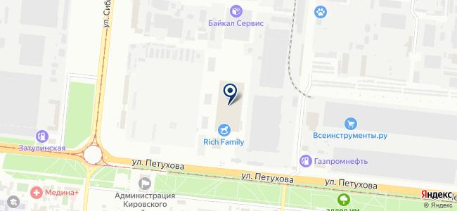 Новосибирский электромеханический завод, ЗАО на карте