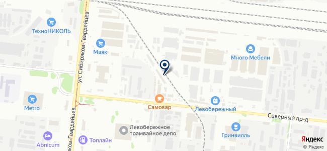 ПРОЕКТ.COM на карте