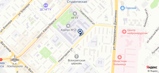 Системы телевещания, ЗАО на карте