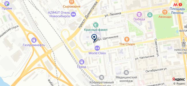 Левша и К, ЗАО на карте