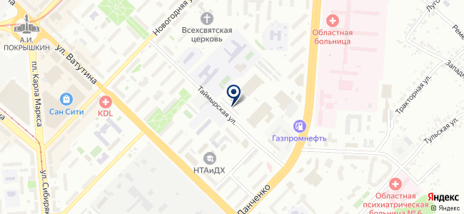 Автосервис на ул. Немировича-Данченко, 145/2 к1 на карте