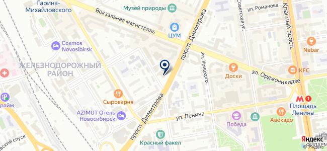 ЮЕ-Интернейшнл, ЗАО на карте