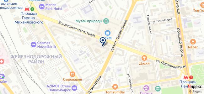 Новый Материк, ООО на карте