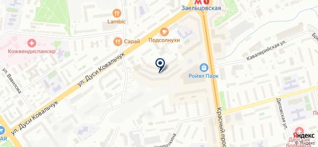 Энергоресурс Новосибирск, ООО на карте