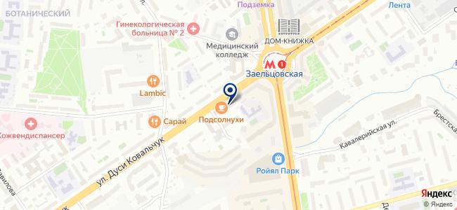РЭС, ЗАО на карте