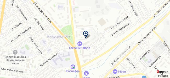 Элекон FINE Korea на карте