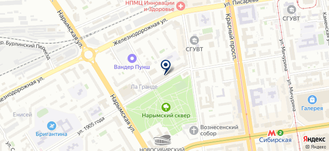 ИКСтайл Сибирь, ООО на карте