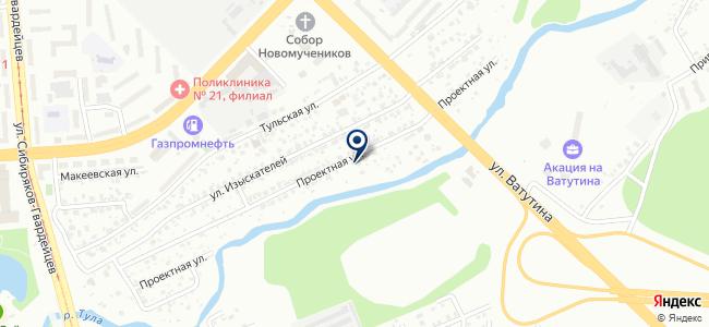 Страж, ООО на карте