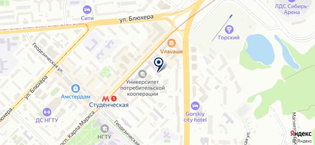 Объединенные энергетические технологии-Новосибирск, ООО на карте