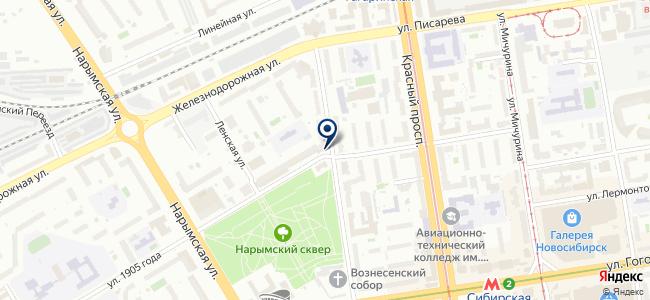 Сибвэй, ООО на карте