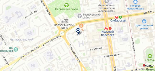 Градиент, ООО на карте