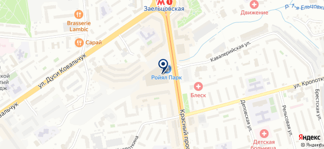 Кросфаер на карте