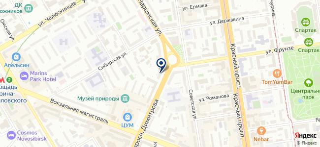 Вотрэ Нуаж-Сибирь, ООО на карте
