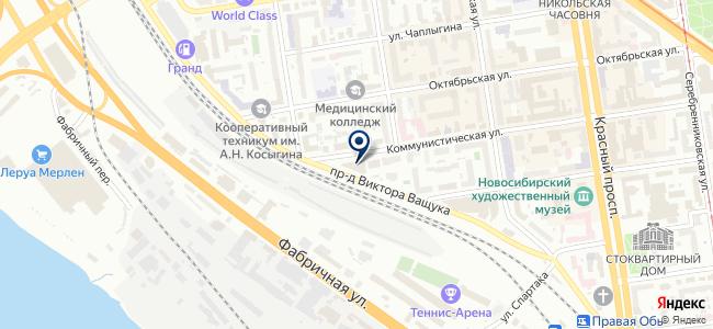 СВ-Энерго, ООО на карте
