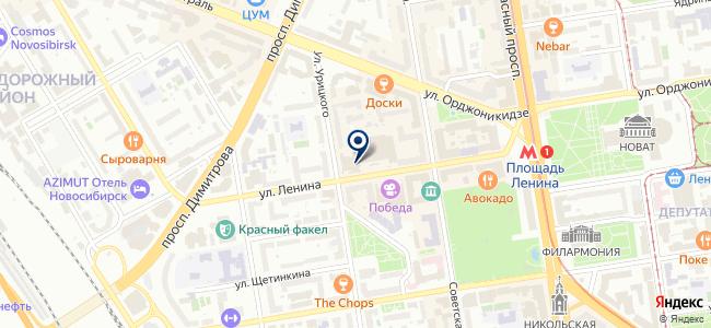 Сибирский Компьютер на карте