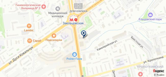 Деловые центры на карте