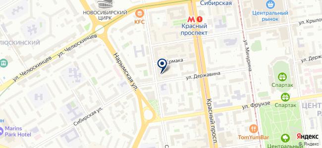 Мегаполис, ООО на карте