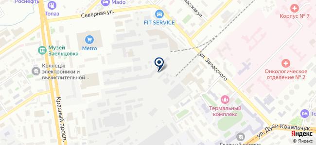 Союз-Электроника, ЗАО на карте