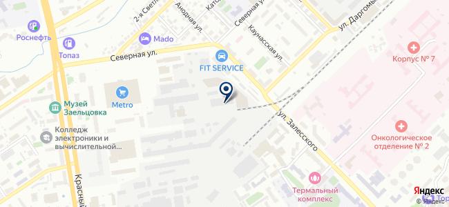 Эмит, ООО на карте