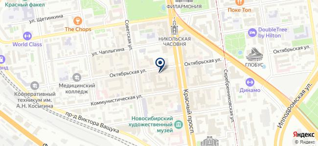 Ампир-Новосибирск, ООО на карте
