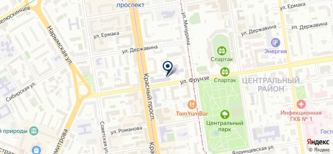 Центр информационной безопасности, ЗАО на карте