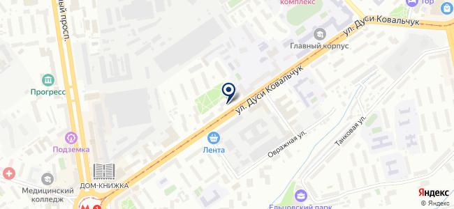 Инструмент-Сибирь, ООО на карте