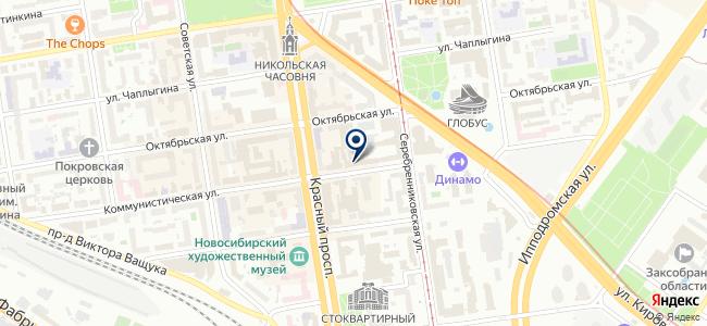 Навигаторъ, ООО на карте