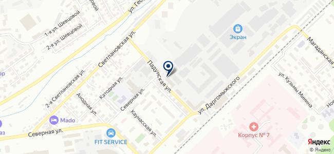 Катод, ОАО на карте
