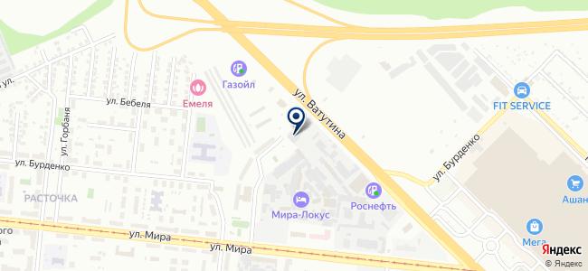 Аллюр, ООО на карте