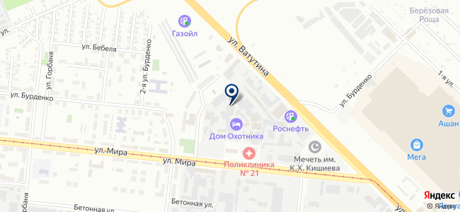 Буран, ООО на карте