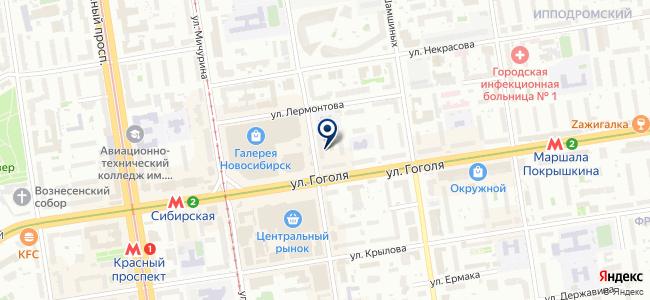 Аспект-Трейдинг, ООО на карте