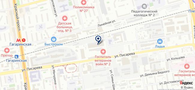 ПТ Электроникс-ПетроИнТрейд на карте
