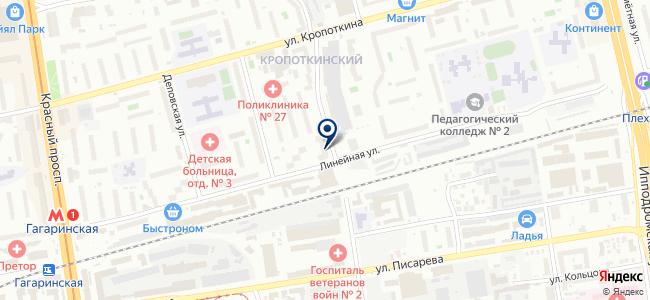 Сибстройпроект, ООО на карте