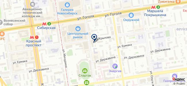 Тиком, ЗАО на карте
