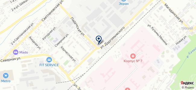 СибКонтакт на карте