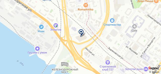 Синоптик на карте