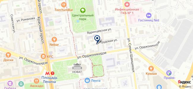 ЛАЗЕР54 на карте