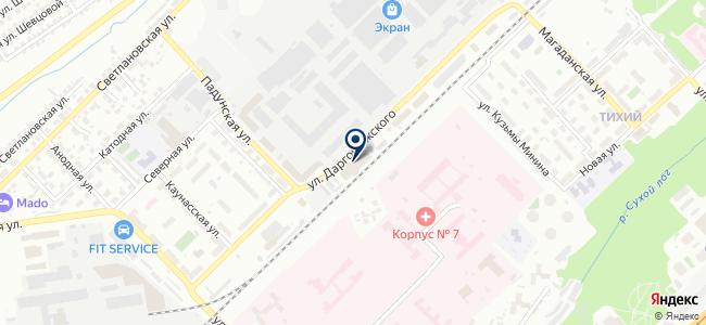Хилти Дистрибьюшн ЛТД, ЗАО на карте
