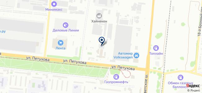 ПластЭлТрейд, ООО на карте