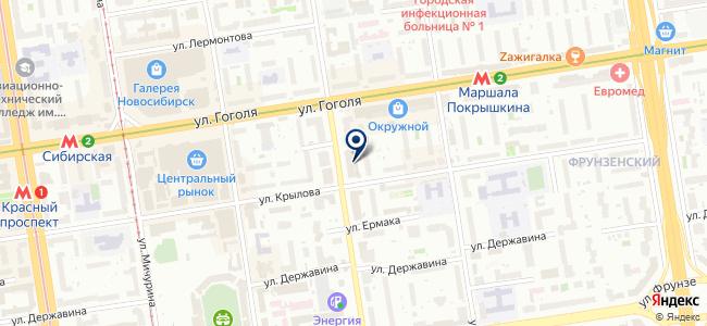Эквилибриум, ООО на карте