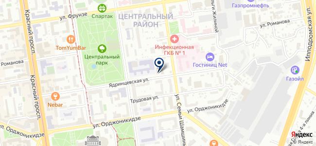 Теккноу, ЗАО на карте