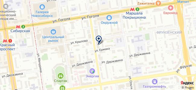 Ампир-V на карте