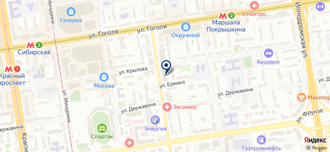 Сибмонтаж, ООО на карте